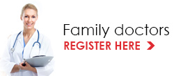 Registration form for family doctors